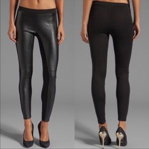 Velvet By Graham & Spencer Faux Leather Pant
